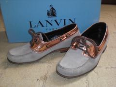 ランバン LANVIN デッキシューズ 靴 箱付