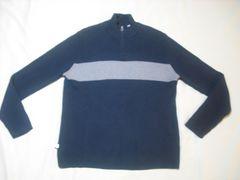 78 男 RALPH LAUREN ラルフローレン ジップセーター 2XLサイズ