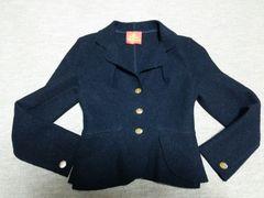 最終sale!ヴィヴィアンMILANジャケット黒イタリア製オーブ