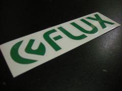 FLUX フラックス ステッカー 20cm
