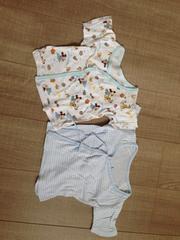 ベビ新生児〜短肌着2枚セットまとめてミッキー50〜60