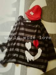 world wide love RYDIA �{-�_-�X�}�C���������v���I�[�o�[