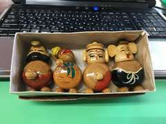木製人形キャラクター不明