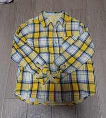 ダティオダディ★Daddy oh Daddy★120cmチェックシャツ!!美品