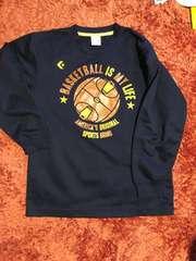 バスケットボール用長袖Tシャツ コンバース150
