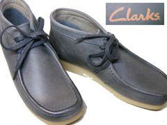 クラークスCLARKS新品STINSON HIワラビーブーツ13634us8