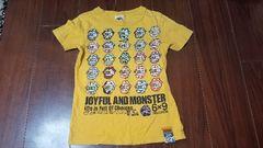 ★JAM★JOYFUL&MONSTER半袖Tシャツ★サイズ140★