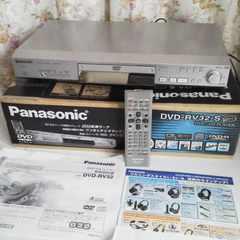 【送料込】Panasonic-パナソニック★DVD-RV32-S★中古 日本製・200倍速