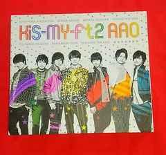 Kis-My-Ft2  AAO 初回限定盤CD   DVD付