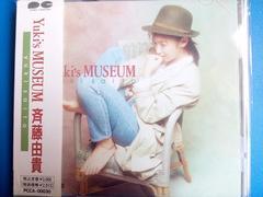 斉藤由貴 ベスト Yuki's MUSEUM 帯付