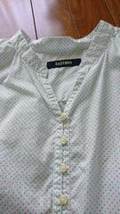 EASTBOYイーストボーイ水玉可愛いシャツブラウス?
