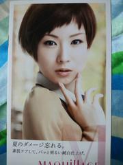 椎名林檎MAQUillAGEミニ冊子SHISEIDO
