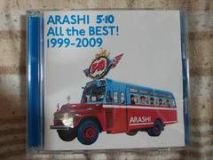 新品同様ARASHI5×10ALLtheBEST!1999-2009アルバム