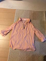 春夏物INDEXインデックス七分袖のシャツ丈68�pサイズM美品