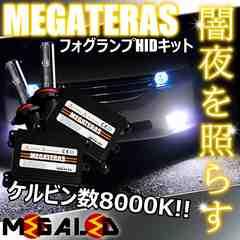 mLED】レクサスCT200h/ZWA10前期/フォグランプHIDキット/H11/8000K