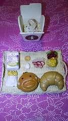 レア10年以上前の古いリーメントパスタパン牛乳フルーツトウモロコシ卵クッキー等ミニチュア