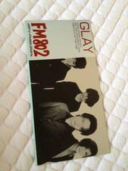 GLAY★ステッカー