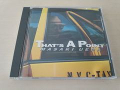 上田正樹CD「THAT'S A POINT」●