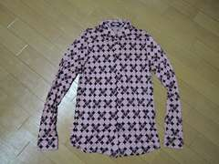 美中古HYSTERIC GLAMOURドットロゴシャツL薄手RAMONES