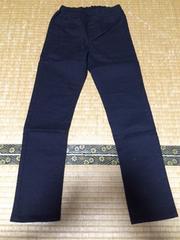UNIQLO パンツ サイズ キッズM 黒