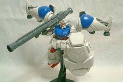 組立済ガンプラ1/144HGUCガンダムGP-02 機動戦士ガンダム0083
