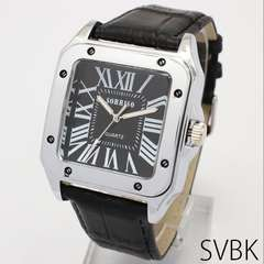 NEW★NEWスクエアフェイスアダルト腕時計SBK