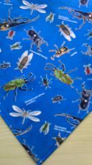 昆虫柄お子様用三角巾