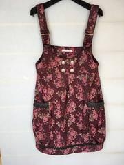 クラシカル柄のジャンパースカート バルーン axes femme N2m