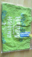HALEIWAトートバッグ◆ラメflower・風合い加工◆ハレイワ