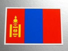 1■モンゴル国旗ステッカー1枚 シール ☆即買!■