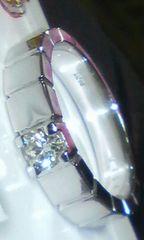 シンプルスクエア上質ダイヤモンド