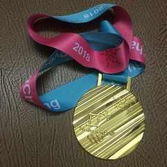 非売品 ピョンチャン五輪 女子滑降 金メダル