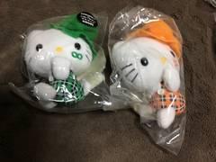 関ジャニ∞キテイコラボマスコット グリーンオレンジセット