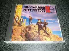 CD「カッティングエッジ/オールオアナッシング」CUTTING EDGE