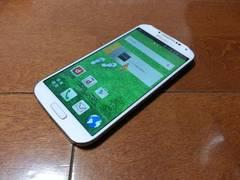 即落/即発!!超美品 SC-04E Galaxy S4 ホワイト