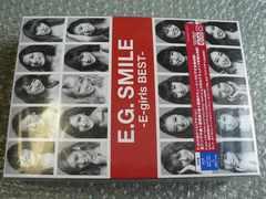 E.G.SMILE〜E-girls BEST【2CD+3Blu-ray】初回盤ベスト/新品