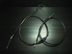 RZ250/RZ350(4L3/4UO) ブラックワイヤーSET+10cmロング新品!日本製