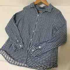 #チェックシャツ M