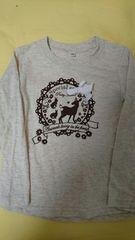 即決☆120�a長袖Tシャツ