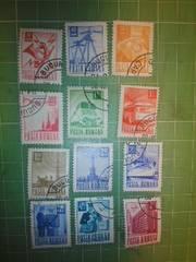 ルーマニア通常切手12種類♪