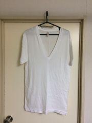 アメリカンアパレル!Vネック半袖Tシャツ二枚セット美品