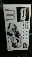 トミカ チケットキャンペーン マクドナルド非売品 トヨタ86 レーシング 未開封 新品