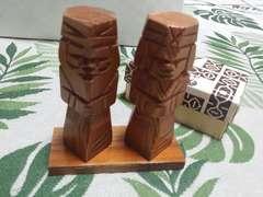 未使用♪アイヌニポポ人形★木彫り