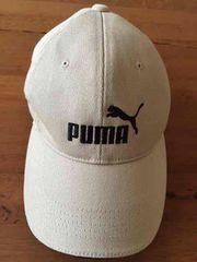 美品 プーマの帽子 ベージュ 54〜57cm