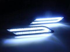 BMW風LEDデイライト・ドレスアップライト/白色ホワイト/VIP仕様