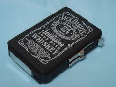 濡手OK シガレットケース ターボライター内蔵 Jack Daniel's