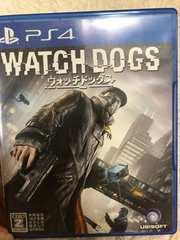 PS4★ウォッチドッグズ WATCH DOGS