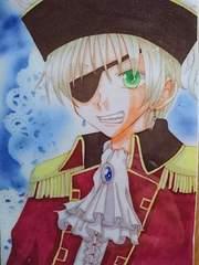 ヘタリア/はがきサイズラミカ/イギリス/海賊紳士