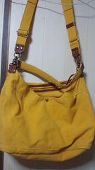 日本製キソラkissora2wayショルダーバッグ黄色