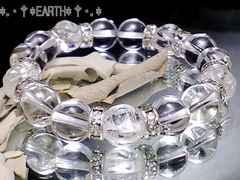 天然石★薔薇彫高級天然水晶AAA数珠クリスタル